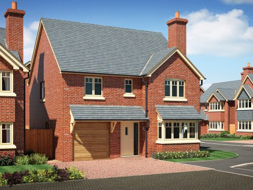 New homes development in Baschurch- Shingler Homes