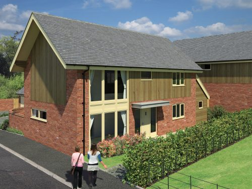 The Pines Harmer Hill, New Homes in North Shropshire