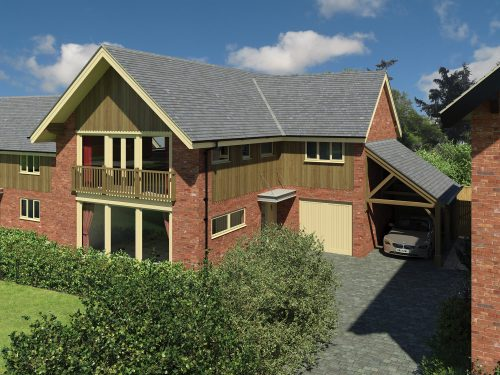 The Pines, Harmer Hill built by Shingler Homes, New Homes Developers in Shropshire.