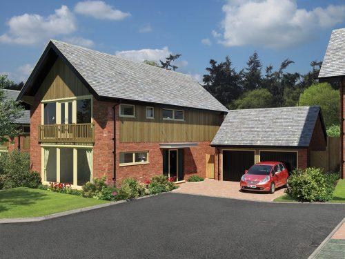 The Pines, Harmer Hill built Shingler Homes, New Homes Developers in Shrewsbury.