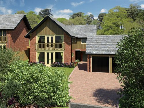 The Pines, Harmer Hill - new homes in Shropshire