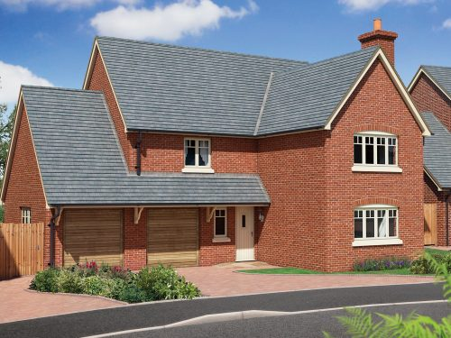 New homes development in Whitchurch, The Beeches