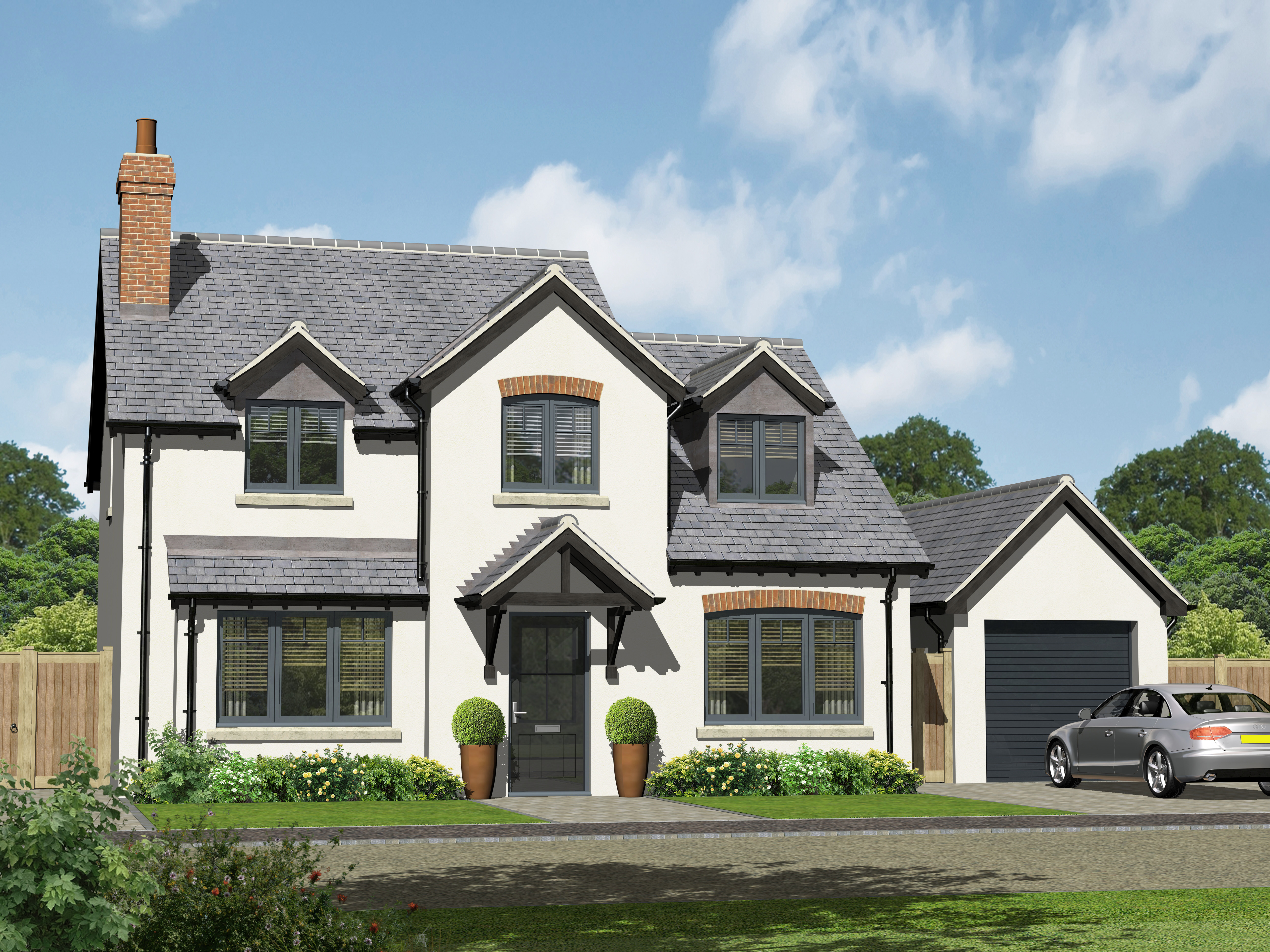 Artist impression of plot 26